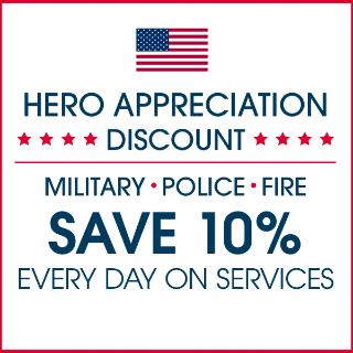 American Flag: Military Appreciation Days 10% Off Services and Products