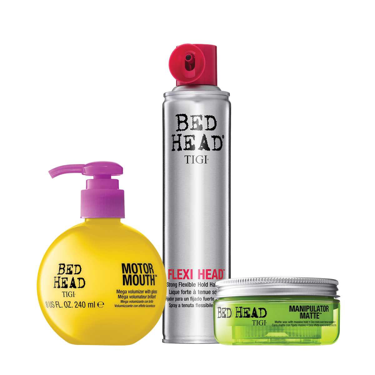 All Regular-Sized TIGI Products  2 for $25 US ($30 CAN). Valid only at participating salons through 2/28/2017, or while supplies last.