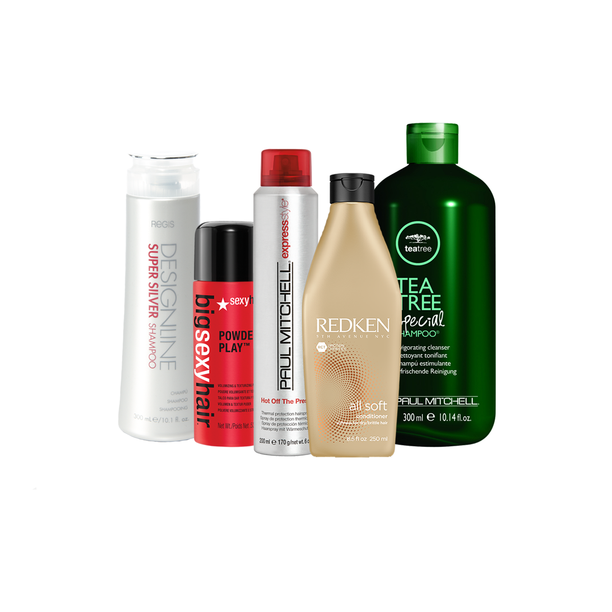 tea tree, designline, redken, sexy hair shampoo