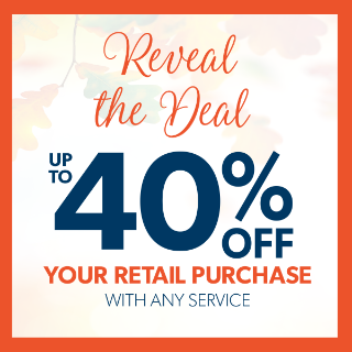 Reveal the Deal up to 40% off