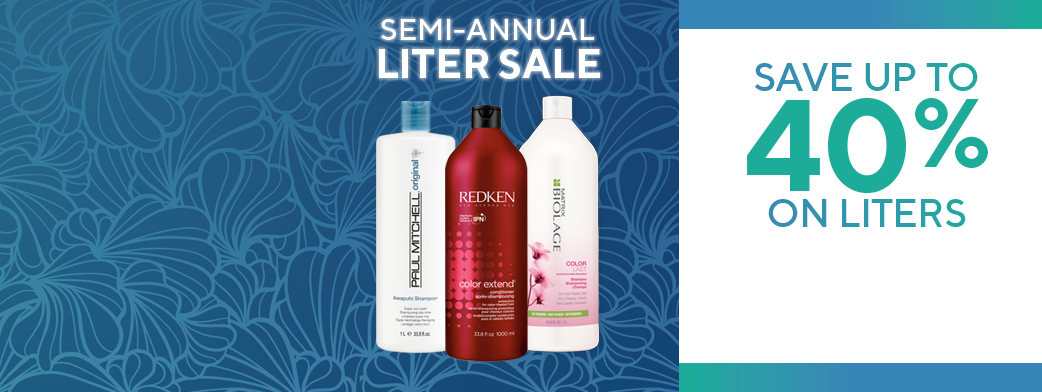 Save up to 40% on Liters