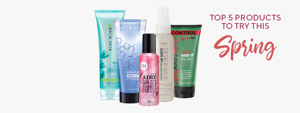 Top 5 Products to Try This Spring
