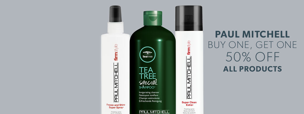 Paul Mitchell Buy One Get One 50% off All Products