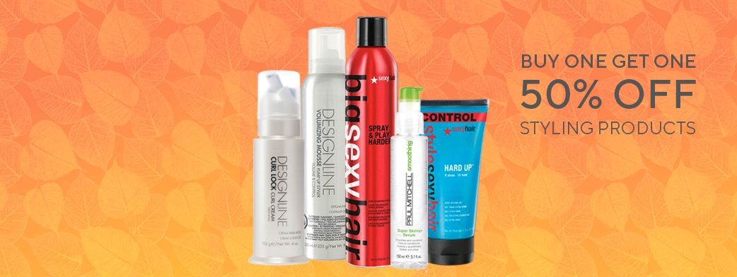 BOGO 50% off Styling Products