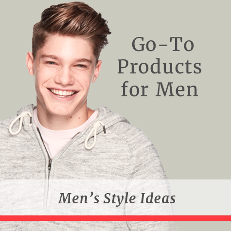 Go-To Products for Men