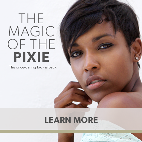 The Magic of the Pixie: The once-daring look is back.
