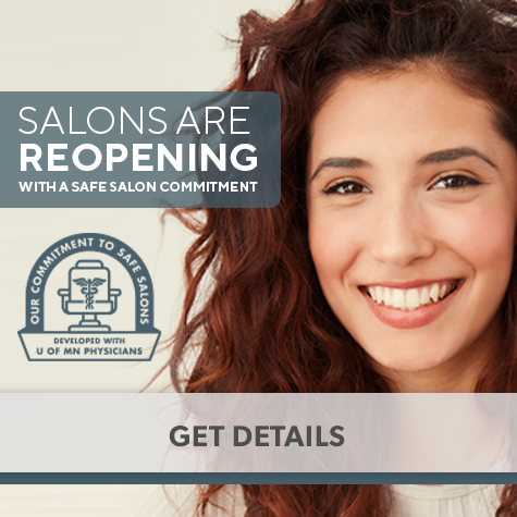 Salons are reopening with a safe salon commitment