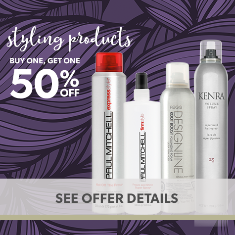 Buy One Get One 50% Off: All Styling Products